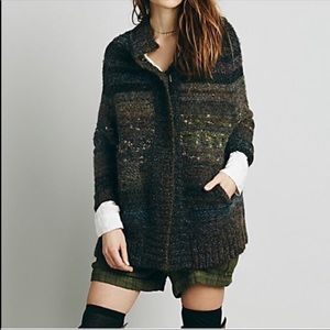 Free People Starlight Shadow Cardigan - Pockets!